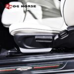 Door Sill Welcome Plate Pedal Footboard Protector Sticker Carbon Fiber Styling Cover For MINI Cooper Countryman F60 Accessories
