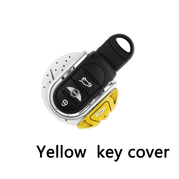 ABS-JCW-Style-Car-Key-Cover-For-mini-cooper-key-cover-keycase-key-chain-For-mini-cooper-F55-F56-F57-F54-F60-jcw-Plastic-Material