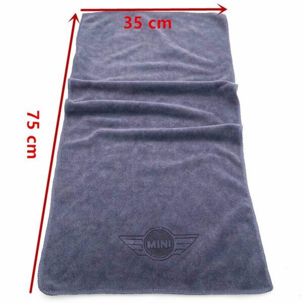 Microfiber-Car-logo-towel-Car-wash-clean-towel-For-BMW-MINI-Cooper-F54-F56-F55-R60-R61-F60-countryman-Clubman-car-accessories