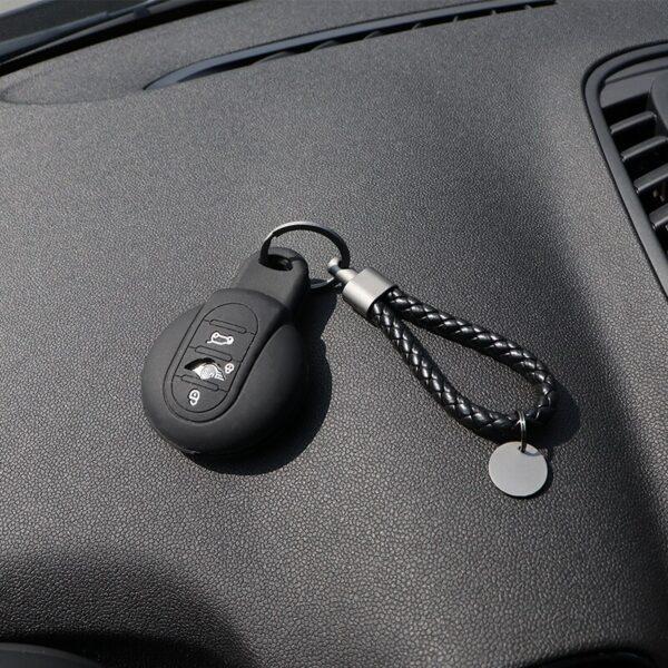 Car-Key-case-Silica-gel-Protection-Cover-For-BMW-MINI-Cooper-F54-F55-F56-F57-F60-Clubman-Countryman-Keychain-Styling-Accessories