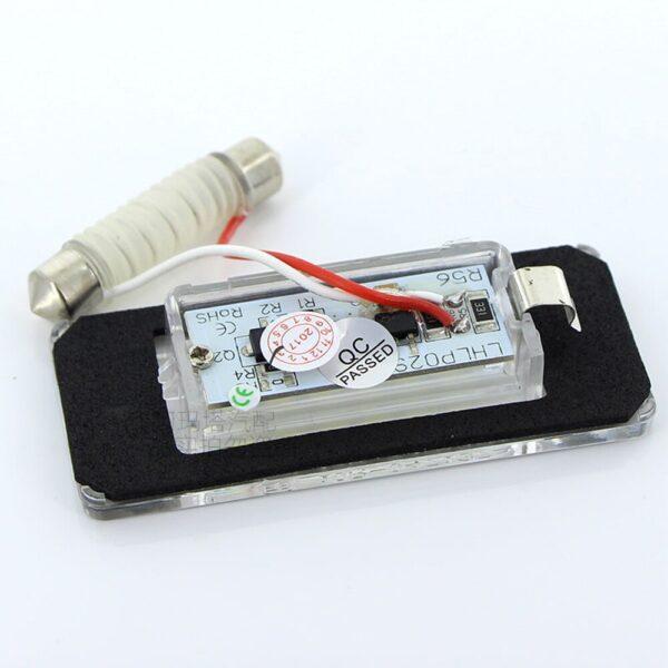 AOSHIKE-2PCS-White-18SMD-Car-LED-License-Plate-Light-Lamp-Beads-for-Mini-Cooper-R56-R57-R58-R59-Car-Light-Source-Error-Free