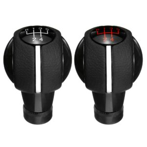 5/6 Speed Manual Car Gear Shift Knob Shifter Cover Gaiter Leather Boot Manual accessory for Mini Cooper F54 F55 F56 F57 F60
