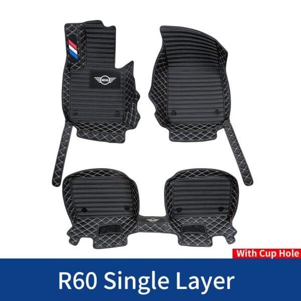 Car-Floor-Foot-Mats-For-BMW-MINI-Cooper-R56-F54-F55-F56-F57-F60-R60-Countryman-CLUBMAN-Waterproof-Custom-Lether-Pads-Accessories