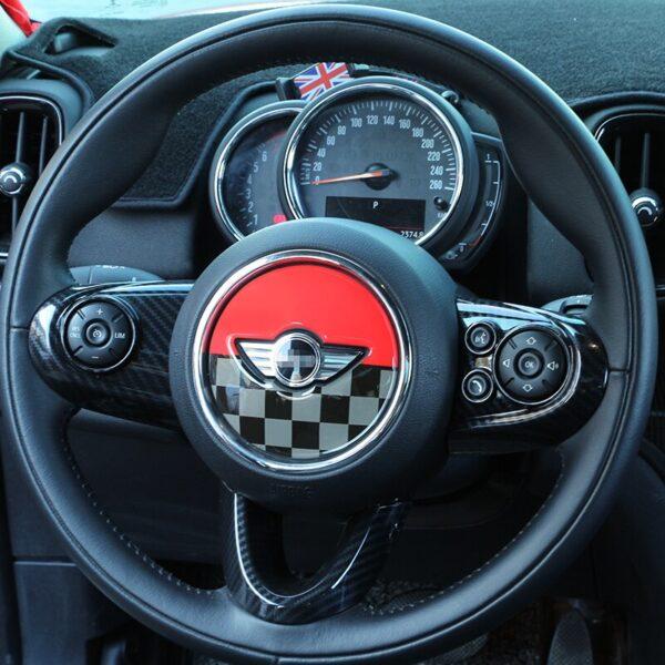 For-MINI-COOPER-F54-F55-F56-F57-F60-Countryman-Clubman-Steering-Wheel-3D-Dedicated-Car-Sticker-Decal-Cover-Trim-Accessories-Skin