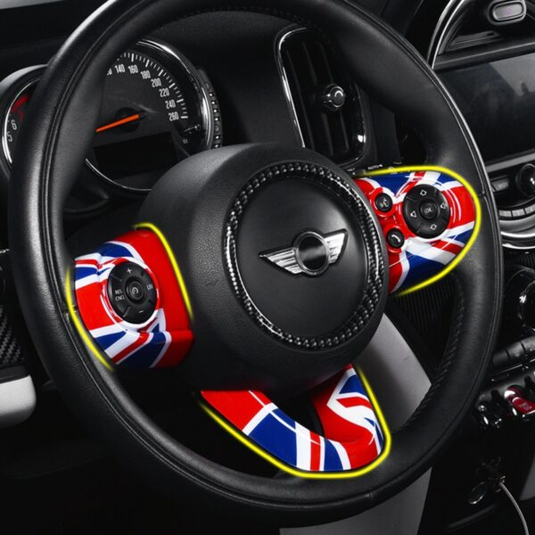 Car-Steering-wheel-multi-function-button-decoration-stickers-For-BMW-MINI-Countryman-F54-F55-F56-F57-F60-Cooper-JCW-accessories