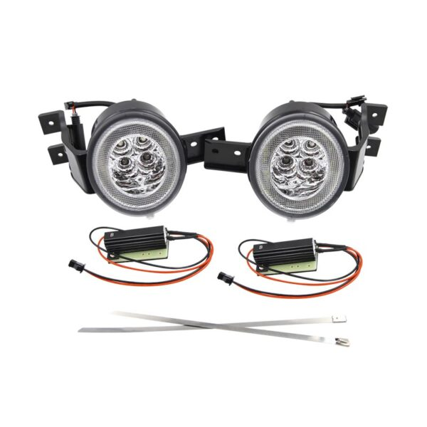 White/Amber Led Front DRL Halo Turn Signal Assembly Kits For BMW Mini Cooper R50 R53 02-06 R52 04-08