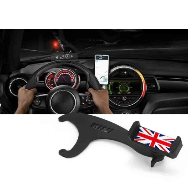 For MINI Cooper R60 R61 R55 R56 F54 F55 F56 F57 F60 Smartphone Cell Phone Cup Mount Holder Rotatable Phone GPS Holder