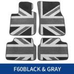 Car Floor Foot Mats For BMW MINI Cooper S One JCW F54 F55 F56 F60 F57 F60 R55 R56 R57 R60 R61 Countryman Interior Accessories