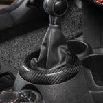 Car Gear Trim Ring For BMW MINI Cooper S One F54 F55 F56 F57 F60 Clubman Countryman Carbon Fiber Dust Mask Interior Accessories