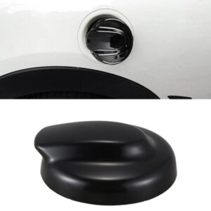 NEW-Door Handle Cover for MINI Cooper S R50 R53 R56,Black Fuel Tank Cap Cover For-BMW Mini Gen 2 R56 for Coope
