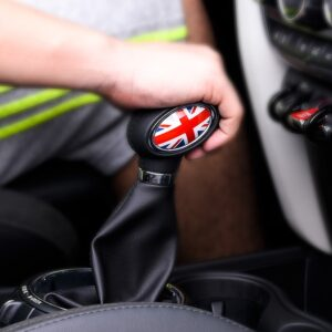 Car Gear Shift Cover Stickers For BMW MINI Cooper F54 F55 F56 F57 F60 decals styling Car Modification Accessories