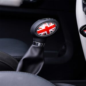 Car Gear Shift Cover Stickers For BMW MINI Cooper F54 F55 F56 F57 F60 decals styling Car Modification Accessories