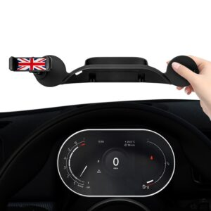 Phone Holder In Car Dashboard GPS Mount Stand For iPhone Telephone Support Mini Cooper Styling Accessories 2021 New