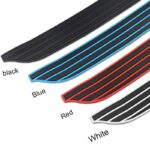 Rear bumper rubber edge protection For MINI cooper COUNTRYMAN R55 R56 R57 R60 F54 F55 F56 F60 car styling lip bumper